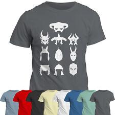 Casco De Colección Gamer Camiseta | Regalo Tee Top T Shirt | Dovahkiin | Ps4 Xbox Pc