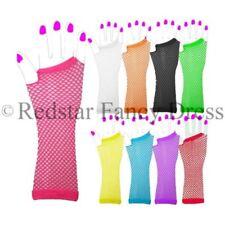 Guantes de color principal rosa para disfraces y ropa de época