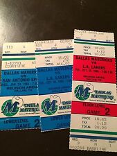 Dallas Mavericks 1985 Nba ticket stubs - One ticket - See LiSting