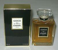 Vintage Perfume Bottle/Box Chanel Coco Eau De Parfum - 50 ML - 1.7 OZ Open/Full