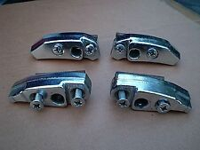 1978-1979-1980-1981 FIREBIRD CAMARO FISHER CHROME ROOF PANEL MOUNTING LATCHES