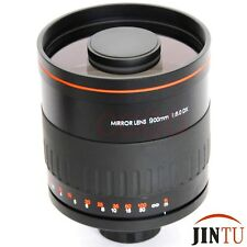 JINTU Super 900mm telephoto Mirror Lens for NIKON D7300 D7200 D3400 D5100 D5300