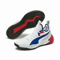 Puma Basketball Uproar PA Detroit Palace White Red Blue Men New Hoops 192776-01