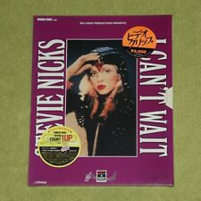 STEVIE NICKS I Can't Wait - RARE 1986 JAPAN VHD VIDEO DISC LASERDISC (VHM28024)