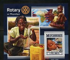 MOZAMBIQUE 2015 ROTARY IN MOZAMBIQUE SOUVENIR SHEET MINT NEVER HINGED