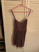 fb2bc11eaf47 Abercrombie   Fitch Floral Romper Jumpsuit no sleeves size s