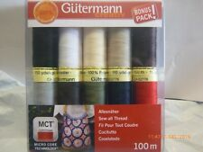 Gutermann Thread Basic Colours All Purpose Sewing Thread. Delivery