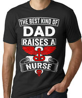 Nurse's Dad Happy Father's Day Gift T-shirt Father's Day Gift Ideas Awesome Gift