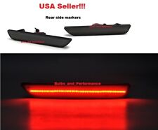 2010 2011 2012 2013 2014 Ford Mustang Smoked Lens Red LED Rear Side Markers