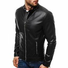 Manteaux et vestes noirs en cuir taille M pour homme