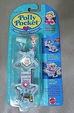 1993 POLLY POCKET Fairy FUN Garden Locket/DOLL New on Blister Card MATTEL-NIP