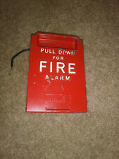 RARE Autocall 4015 fire alarm pull station