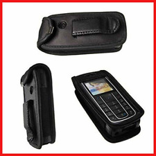 caseroxx Leather-Case with belt clip for Nokia 6230, 6230i made of real leather