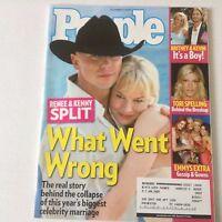 People Magazine Renee Zellweger & Kenny October 3, 2005 052617nonrh