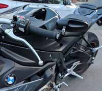 CNC Bar End mirrors BMW S1000r genuine quality pair HJR Products