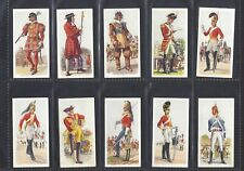 CARRERAS - HISTORY OF ARMY UNIFORMS - FULL SET OF 50 CARDS