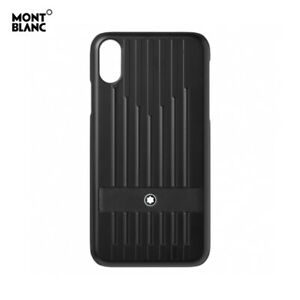 Genuine Montblanc Sartorial Natural Leather Hard Shell Cover Case for iPhone XS