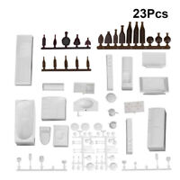 23Pcs 1:25 Simulated Furniture Construction Model Ornaments Doll House Decor