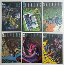 ALIENS (1988) #1 2 3 4 5 6 DARK HORSE COMIC FULL RUN LOT 1st Appearance HI GRADE