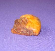 Natural Genuine Butterscotch Egg Yolk  Baltic Amber Stone  Chunk 6,1 grams