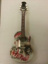 Miniature Guitar (24cm Tall) : MOTLEY CRUE NIKKI SIXX HEROIN DIARIES OVATION