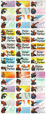 Personalized Waterproof Name labels stickers, 36 Spiderman , day care, school,