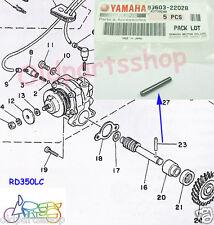 Yamaha R5 RD350 RD400 RD350YPVS RZ350 RD350LC Oil Pump Dowel Pin NOS DS7 RD250