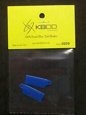 KBDD Blade 130 x Pearl Blue Tail Rotor Blade #5253, 130x