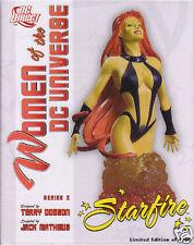 SCULPTURE  STARFIRE (buste) women of DC Terry Dodson