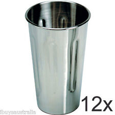 Roband Milkshake Maker 18/8 Stainless Steel 710ml Cup 12 Pack - Brand New WA132