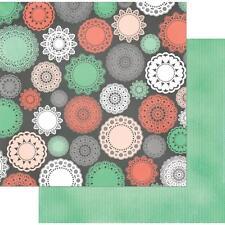 """BoBunny Pincushion """"Doilies"""" 12x12 Paper 2pc"""