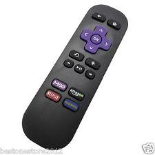New Replaced Remote for Roku 1 2 3 LT HD XD XS XDS w MGO Netfilx amazon App key