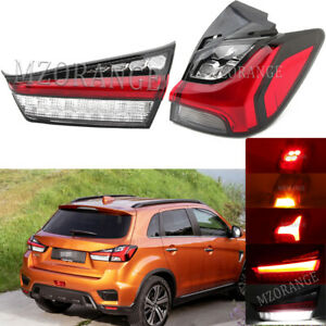 Right Inner+Outer Rear Tail Lights Lamps For Mitsubishi Outlander Sport ASX 2020
