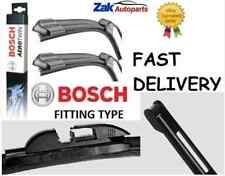 MERCEDES C-CLASS W203 (2001-) ALL MODELS FRONT WIPER BLADES BOSCH AEROTWIN SET
