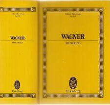Richard Wagner, Siegfried, Eulenburg 909