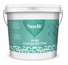 Nurifi - 1kg Cocoa Butter Unrefined 100 Pure Raw & Natural