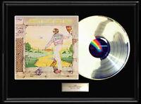 ELTON JOHN GOODBYE YELLOW BRICK ROAD  RARE WHITE GOLD PLATINUM TONE RECORD VINYL
