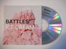 BATTLES : ICE CREAM ( RADIO EDIT ) ♦ CD SINGLE PORT GRATUIT ♦