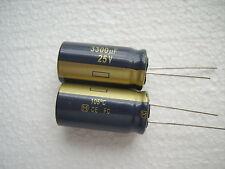 Kondensator 3300 µF 25V   low ESR     1 STCK.  !!!! Die guten !!!!!!!