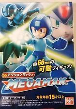 "BANDAI Mega Man ""66 Action"" Mini-Figures Display Box"