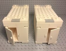 Lego New MOC City Modular Flatbed Truck Container Stackable Semi-trailer Storage