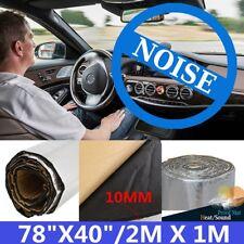 200cm×100cm Firewall Heat Sound Deadener Insulation Material Mat Aluminum foil