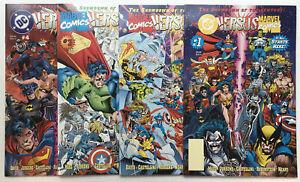 DC Versus Marvel #1-4 Complete Series 1996 NM- 9.2 Hot Key