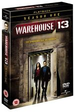 WAREHOUSE 13 - Season One - The unknown has an address Englisch english - 4 DVDs