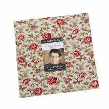 La Rosa Rouge  10 Inch Layer Cake  Moda quilt fabric French General