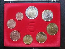 San Marino 2006-2007: 1 Cent - €2 Euro Eight 8 Coin Collection Set ~ Cased
