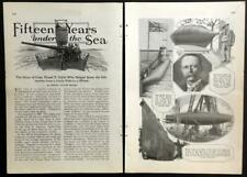 Submarine History 1926 pictorial Bayou St. John - USS Holland - Frank T. Cable