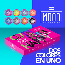 Nail Factory - Acrylic Nail Powder Mood  8pcs - Color Change Works W dip System