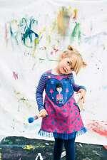 Rosalita Senoritas Mädchen Kleid Trägerkleid bunt pink blau Gr. 116 Neu