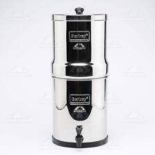 ~Dented but new~ Big Berkey Water Filter +2 Black Purifier Filtration System